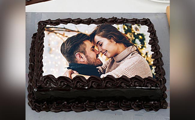 Photo Cake for Hubby