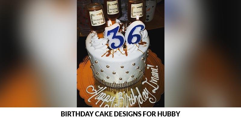 Birthday Cake Designs For Hubby