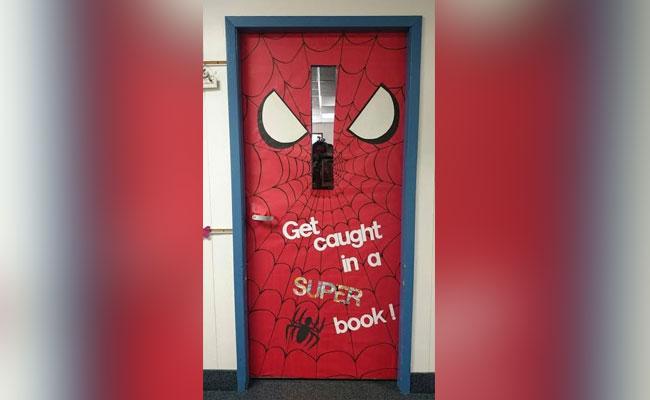 SuperHeroes Door Decor