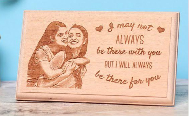 Personalised Forever Wooden Frame