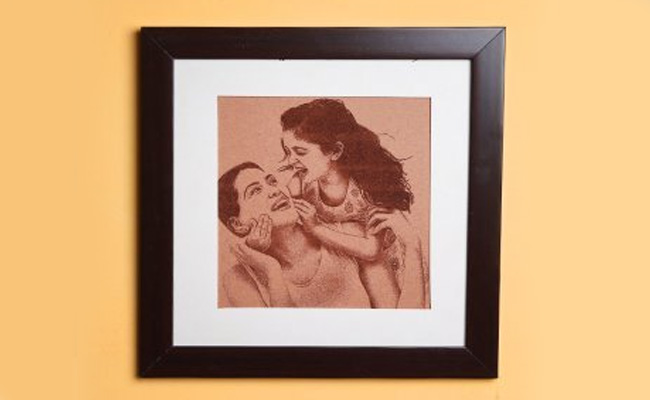 Personalised Picture Perfect Wall Frame