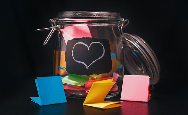 Jar Of Notes