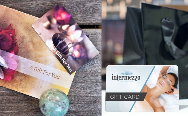 Salon or Spa Gift Cards as a Birthday Gift