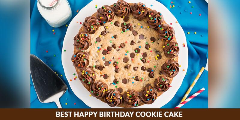 Best Happy Birthday Cookie Cake