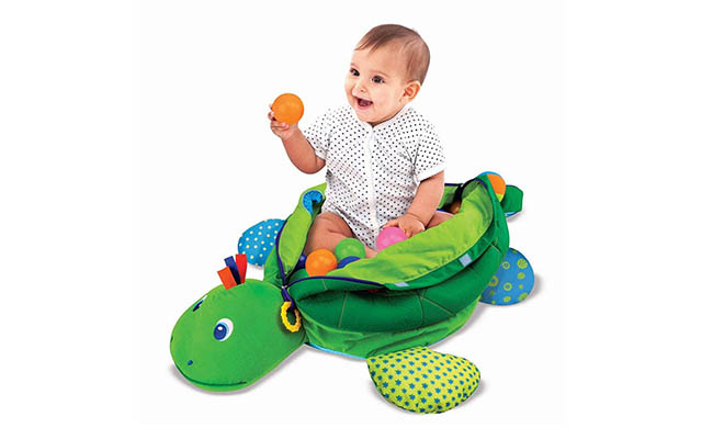 Turtle Ball Pit For First Birthday Gift