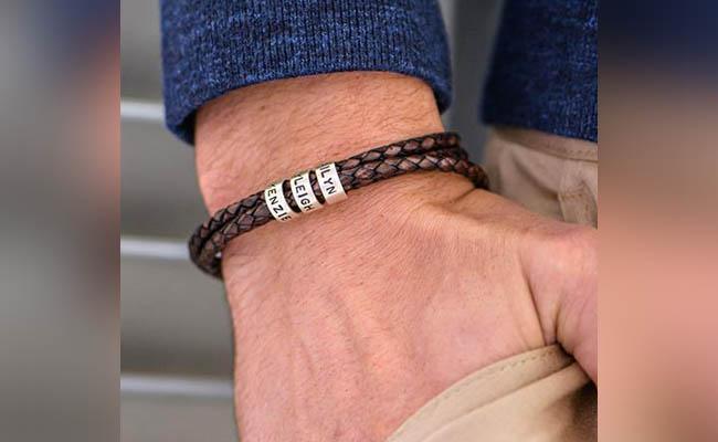 Personalised Bracelet for Him