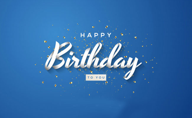 Wish Happy Birthday on a Blog or Ad Space