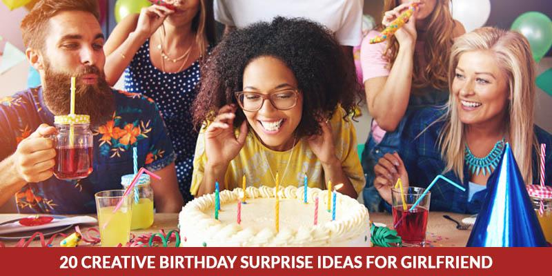 20 Creative Birthday Surprise Ideas For Girlfriend