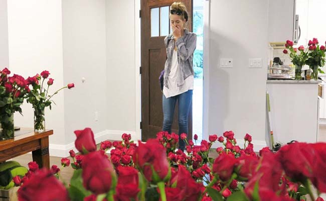 Red Roses For Girlfriend