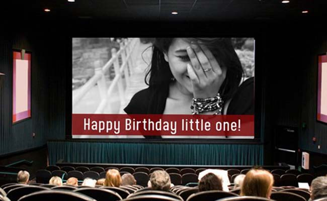 Video Clip Of You Wishing Her Happy Birthday