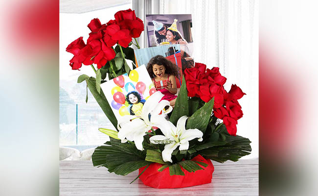 Flower Bouquet For Birthday Party