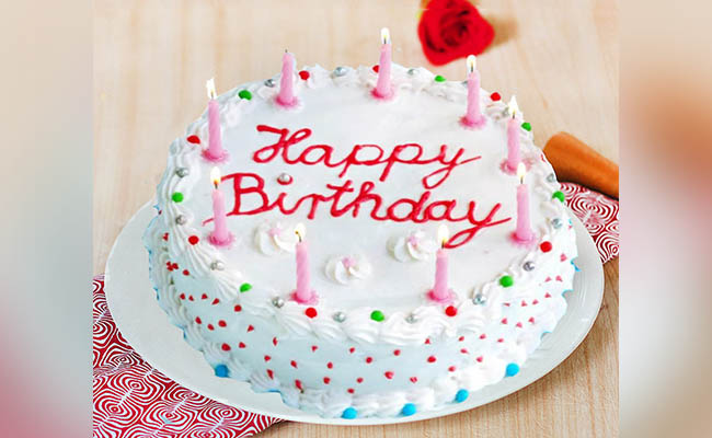 Birthday Cream Cake For Boys