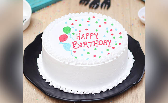 Snowlicious Bday Cake For Boys