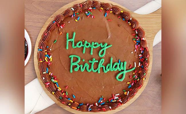 Yummy Chocolicious Bday Cake For Boys