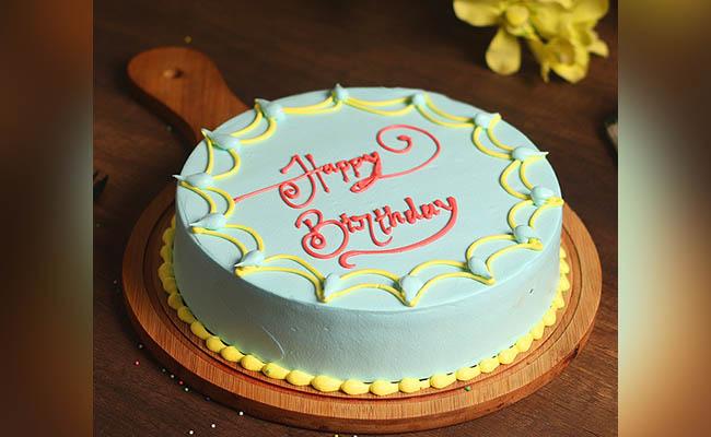 Yummy Creamy Birthday Cake For Boys