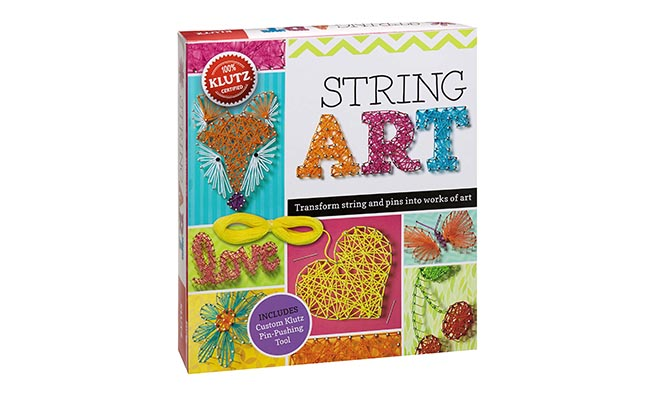 String Art Book kit for 10 Year Old Girl