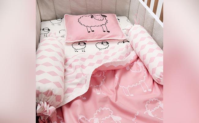 Baby Girl Pillows and Dohar