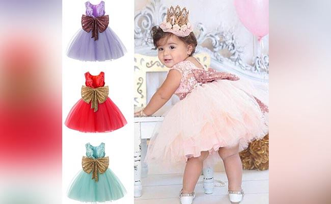 Dress For One Year Baby Girl