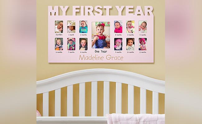 Photo Frame For One Year Baby Girl