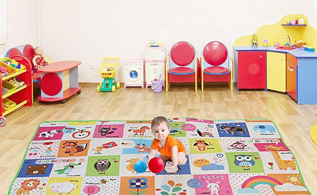 Play Mat For One Year Baby Girl