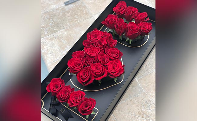 I Love You Floral Box