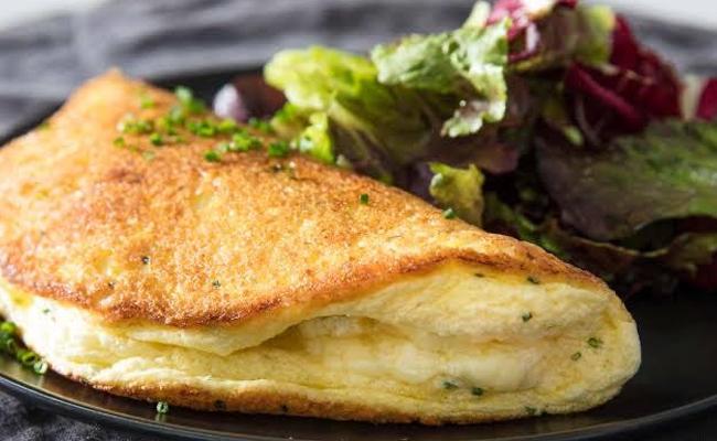 Not mom style omelette