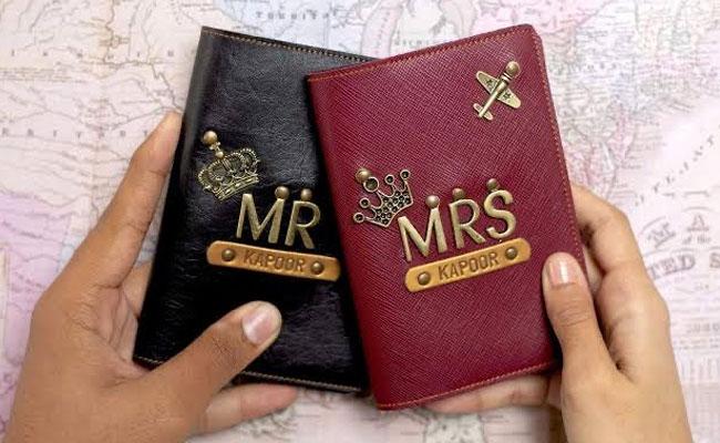 Personalised Passport Holders