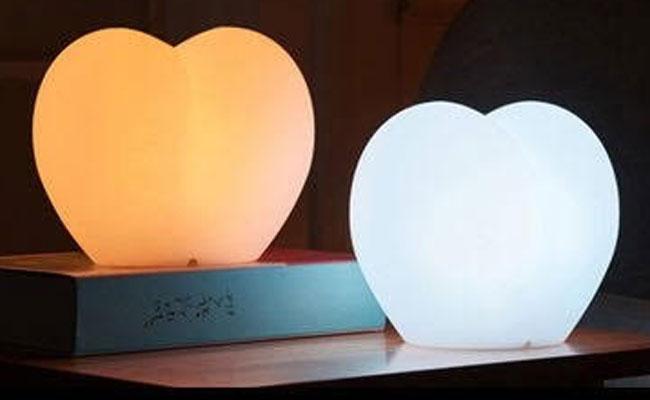 Heart shaped LED Light