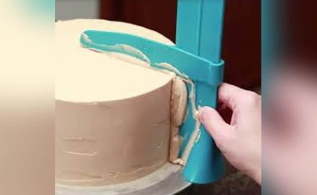 Trim the cake