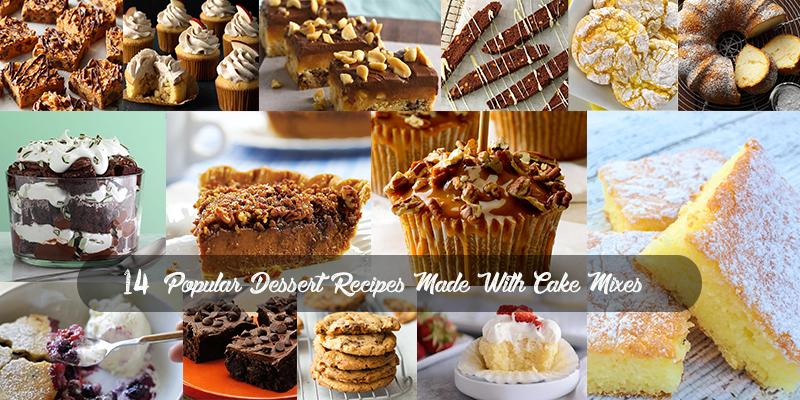 Cake Mix Dessert