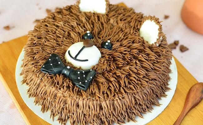 Boo bear cake