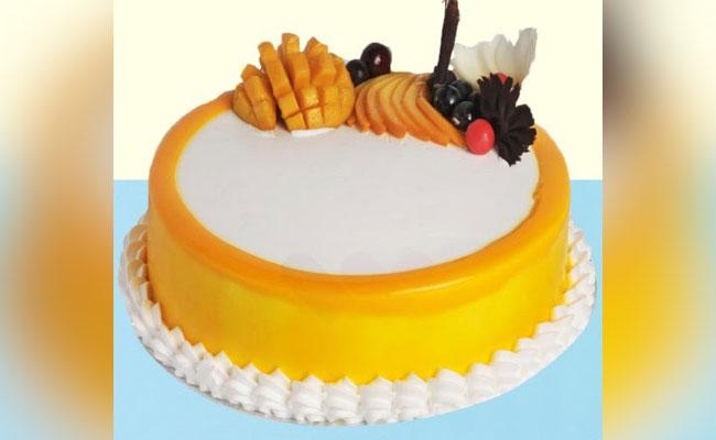 Mellow mango cake