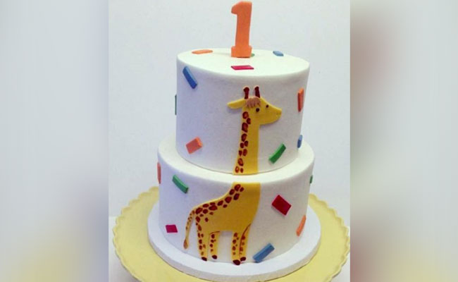 2 tier carrot and date cake