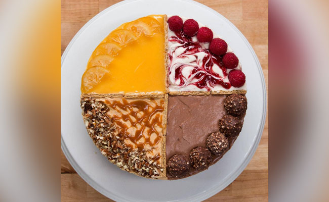 Assorted flavour cake