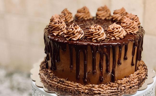 Vegan birthday cake