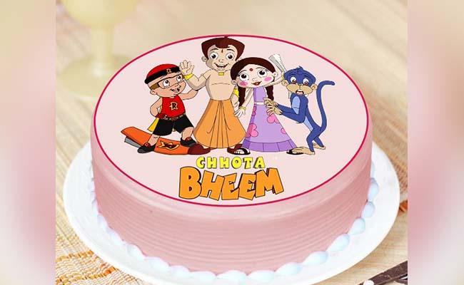 A Cute Cake for Chhota Bheem Lovers