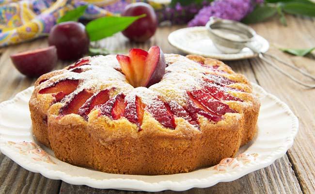Plum Nectar Cake