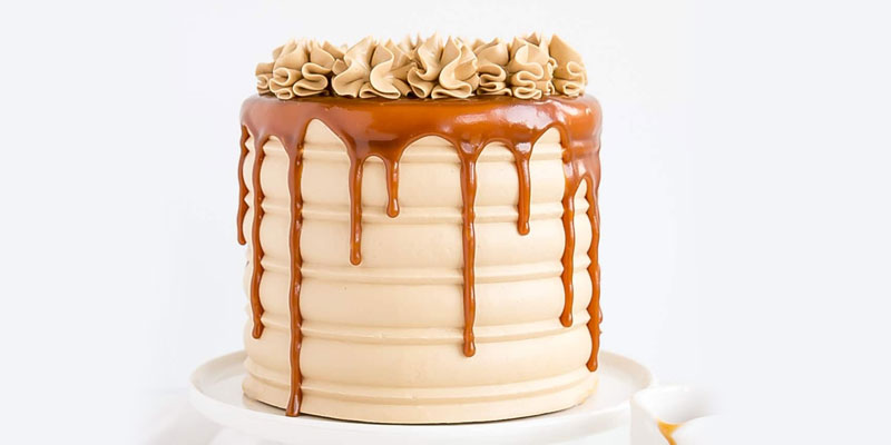 Simple Caramel Cake Recipe