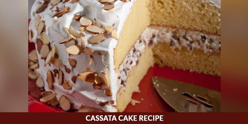 Casata cake recipe