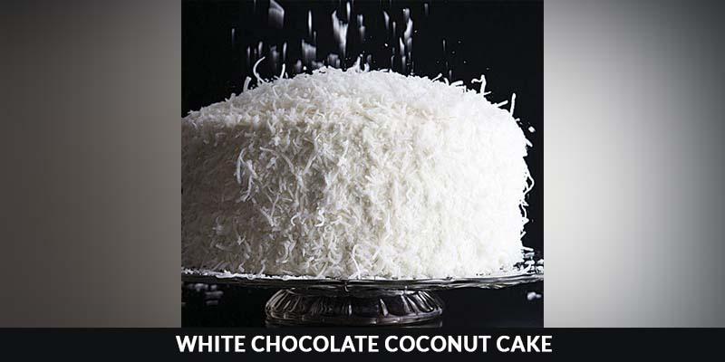 White Chocolate Coconut Cake recipe