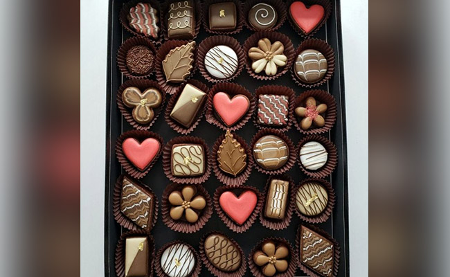 A box of sweets