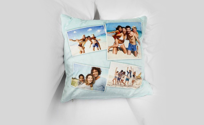 A Photo Cushion for Birthday