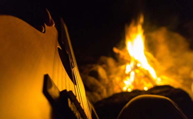Music and Bonfire