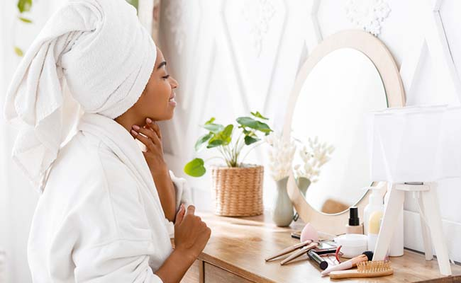Pamper at home