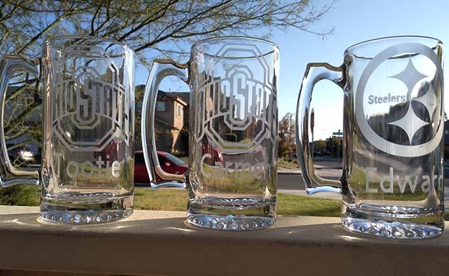 Sports Glass Mug