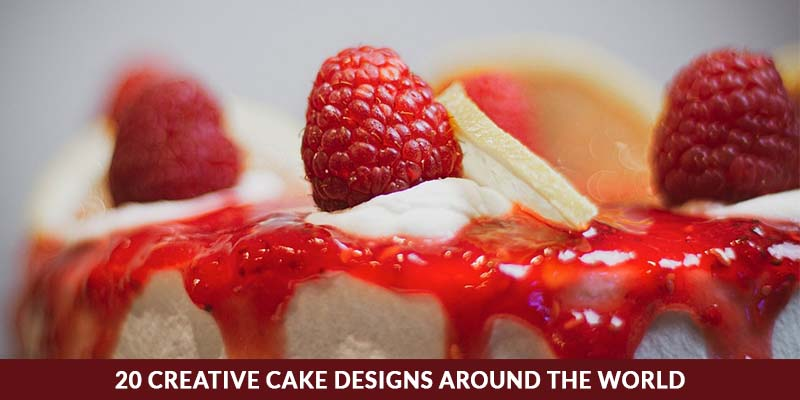 20 Creative cake Designs