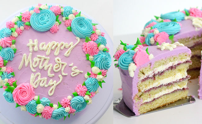 A Luscious Mothers Day Cakes