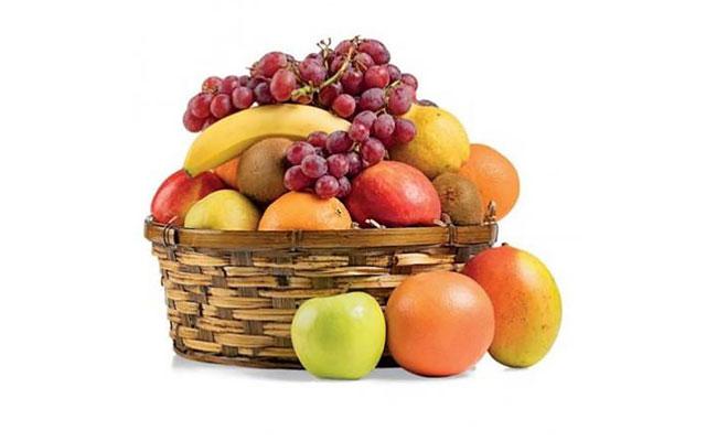 Mothers Day Fruit Basket