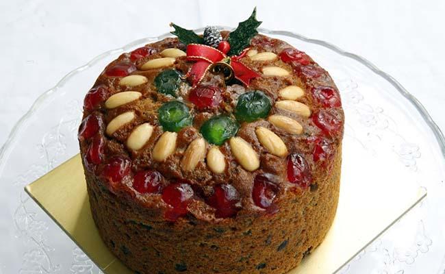 Fruitcake with a twist
