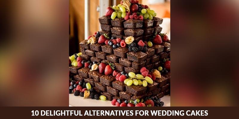 10 Delightful Alternatives For Wedding Cakes